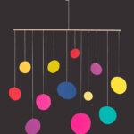 interiérová závěsná dekorace (mobil) - Lentilky