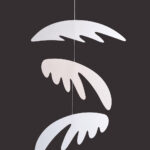 interiérová závěsná dekorace (mobil) - Andělská křídla
