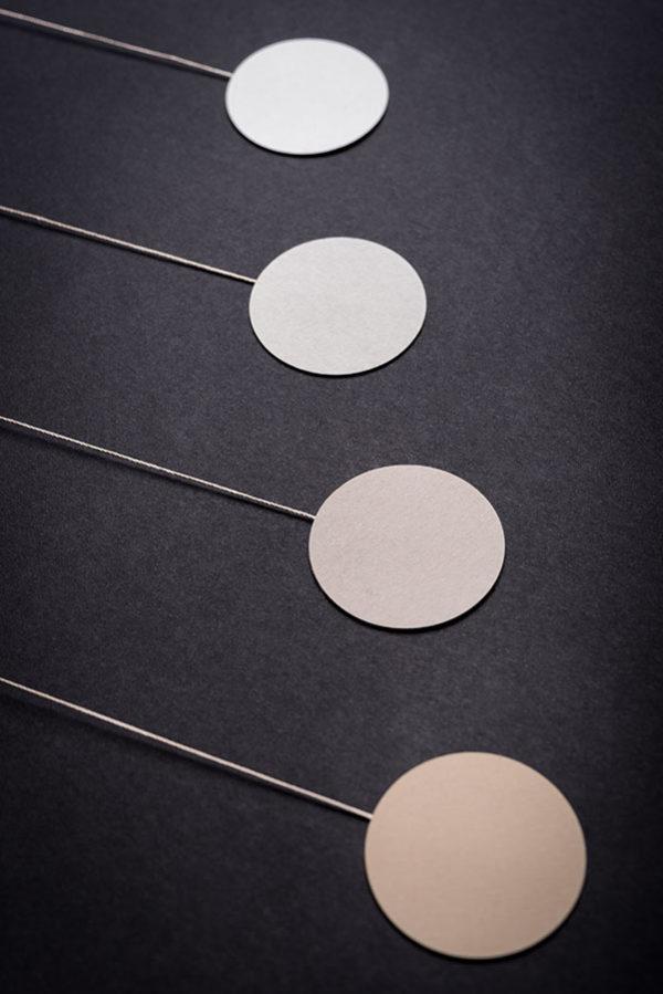 montessori závěsná dekorace (mobil) - Gobbi 2D malý