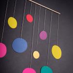 závěsná dekorace - Lentilky