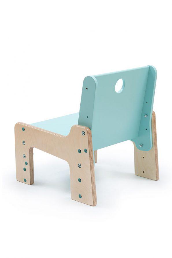 dětský rostoucí nábytek - židle modrá