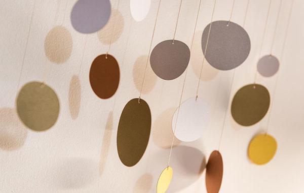 interiérová závěsné dekorace (mobil) mimimo