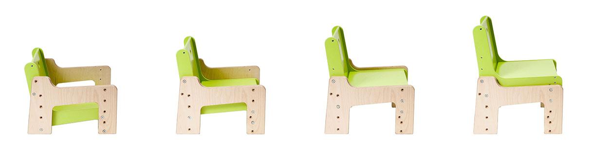 dětský rostoucí nábytek mimimo - rostoucí židle