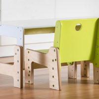 dětský rostoucí nábytek mimimo / stůl a židle