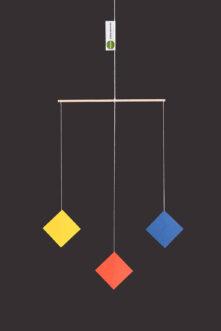montessori závěsná dekorace (mobil) - Trio 2D