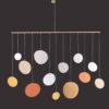 interiérová závěsná dekorace (mobil) - Bubliny