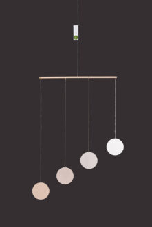 montessori závěsná dekorace (mobil) - Gobbi 2D