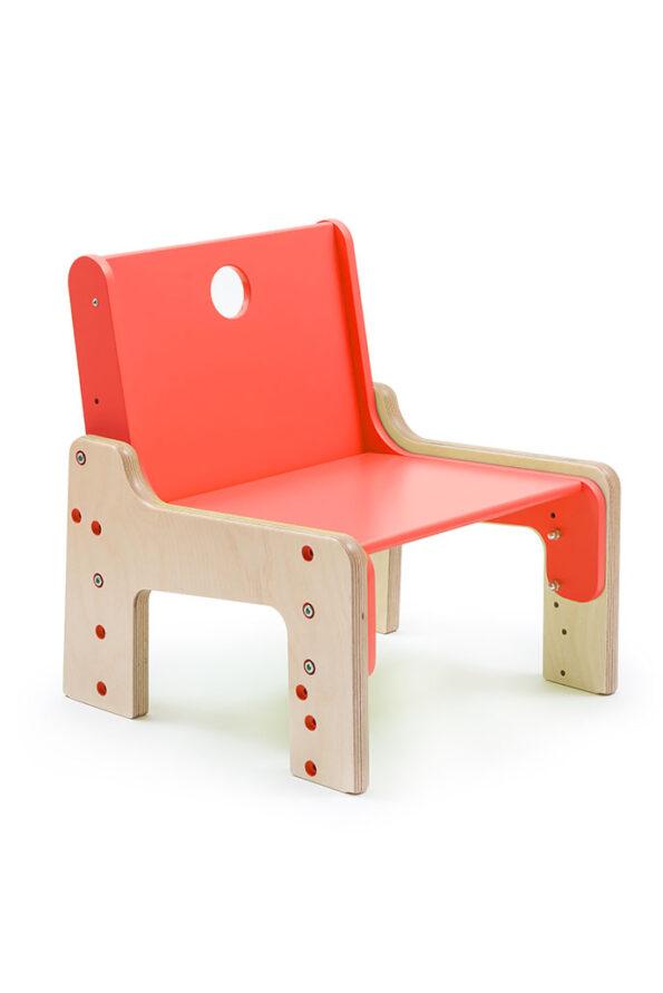 Rostoucí židle červená