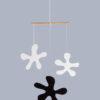interiérová závěsná dekorace (mobil) - Kaňky malé