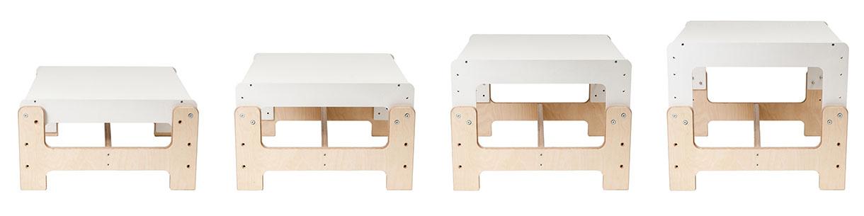 dětský rostoucí nábytek mimimo - rostoucí stůl