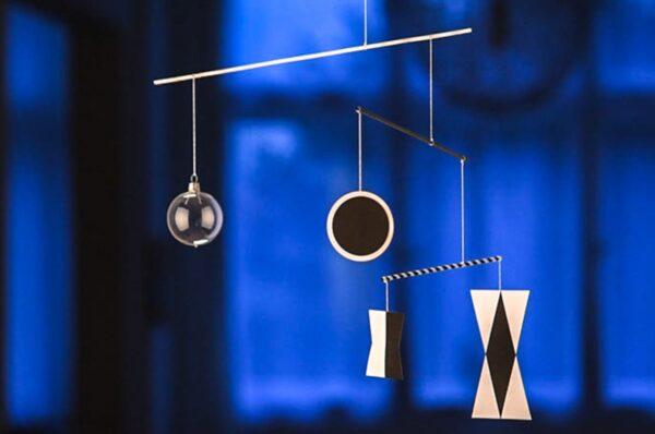 montessori závěsná dekorace (mobil) - Munari